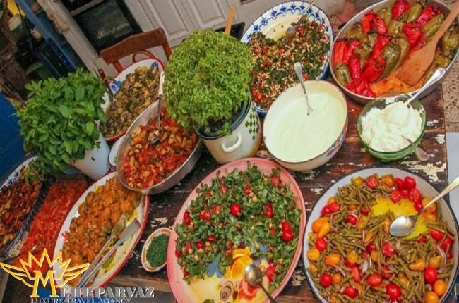 غذاهای آنتالیا